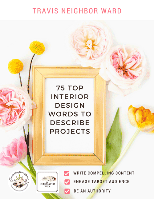 75 Top Interior Design Words to Describe Projects cover