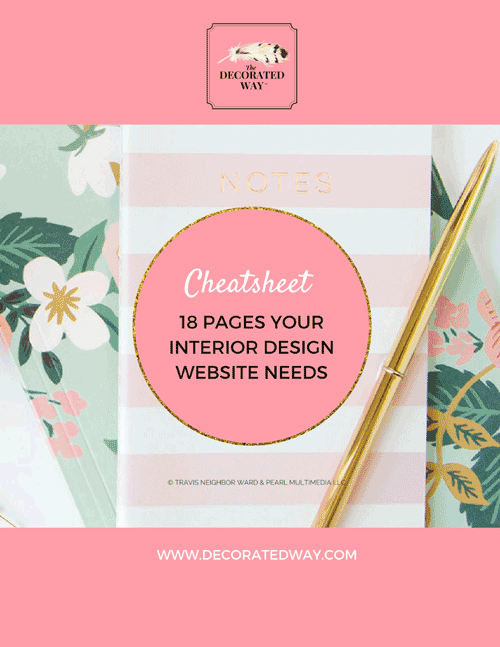 Interior Design Websites: 18 Pages Yours Needs Now cover